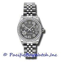 Rolex Lady-Datejust 178384 Νέα Ατσάλι 31mm Αυτόματη