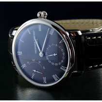 Frederique Constant Manufacture Slimline Staal 40mm Grijs Romeins