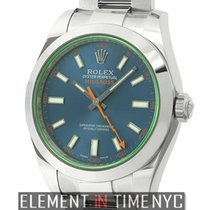 Rolex Milgauss Steel 40mm Blue United States of America, New York, New York
