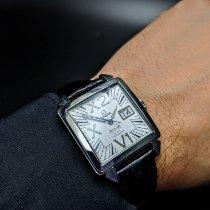 Omega De Ville X2 Steel 35mm Silver Roman numerals