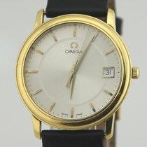Omega De Ville Prestige Жёлтое золото Cеребро
