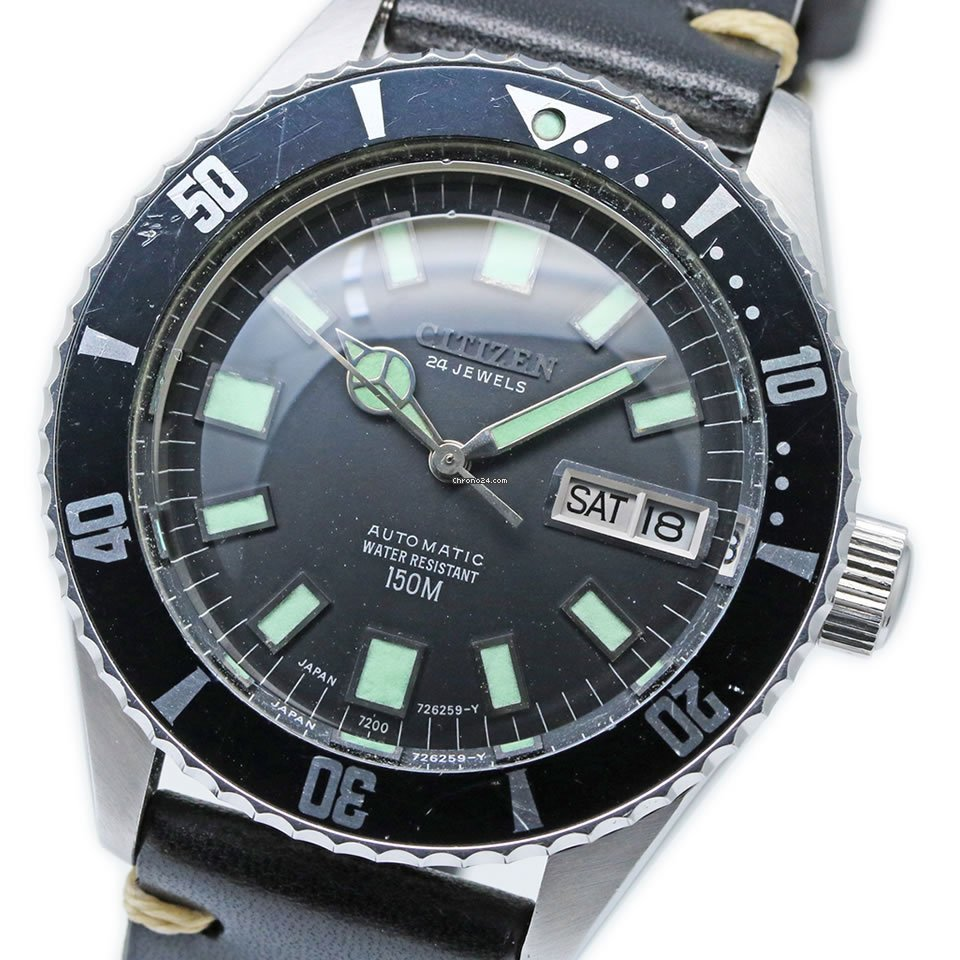 Citizen 4-722710 Y 1973 pre-owned