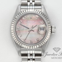 Rolex Lady-Datejust Gold/Stahl 26mm Perlmutt Arabisch Deutschland, München