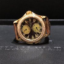 Patek Philippe Travel Time Rose gold 35mm Brown Roman numerals