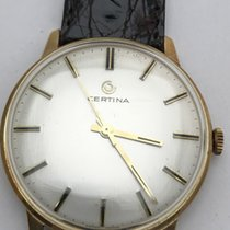 Certina Oro amarillo 33mm Cuerda manual Certina Golduhr mechanisch usados