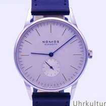 NOMOS Orion 38 new 2020 Manual winding Watch with original box and original papers 384