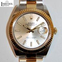 Rolex Datejust Acero y oro 41mm Plata Sin cifras España, Madrid