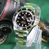 Rolex 16613 Acero y oro 2001 Submariner Date 40mm usados