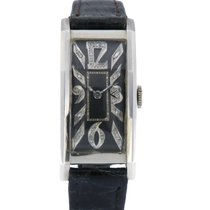 Hamilton Palladium Manual winding Black 44mm pre-owned