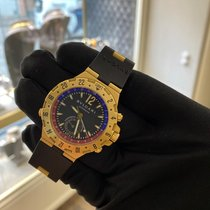 Bulgari pre-owned Automatic 40mm Black Sapphire crystal