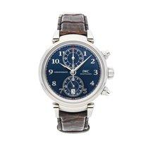 IWC Da Vinci Chronograph Otel 42mm Albastru Arabic