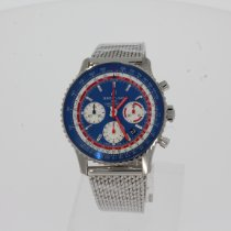 Breitling Navitimer 1 B01 Chronograph 43 AB01212B1C1A1 New Steel 43mm Automatic