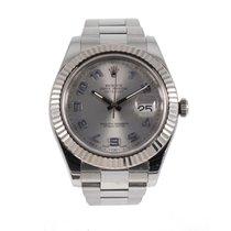 Rolex Datejust II Stahl 41mm Grau