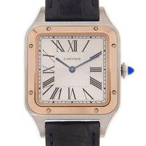 Cartier Santos (submodel) Ouro/Aço 31.4mm Prata