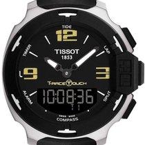 Tissot T-Race Touch Steel Black Arabic numerals