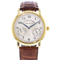 A. Lange & Söhne 1815 Yellow gold 36mm Silver United States of America, Georgia, Atlanta