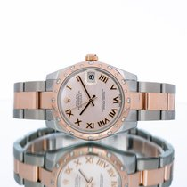 Rolex Lady-Datejust Or/Acier 31mm Rose Romain