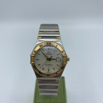 Omega Constellation Ladies Or/Acier 28mm Nacre