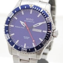 Mido Steel 42mm Automatic M011.430.11.041.02 pre-owned