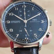 IWC Portuguese Chronograph Acero Negro Árabes España, Vallromanes