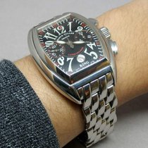 Franck Muller Conquistador 8005 CC King Very good Steel 40mm Automatic Thailand, Bangkok