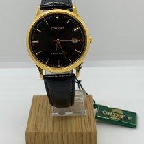 東方 鋼 35mm 石英 ORIENT WATCH LUN63001BO CLASSIC MEN'S WATCH 新的