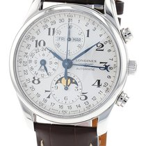Longines Master Collection Steel 40mm White