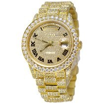 Rolex Yellow gold 36mm Automatic Day-Date pre-owned United States of America, New York, NEW YORK CITY