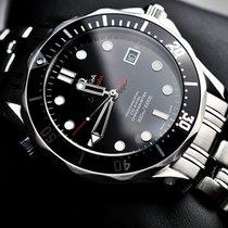 Omega Seamaster Diver 300 M Acél 41mm Fekete Számjegyek nélkül