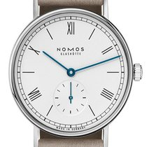 NOMOS 244 Steel 2020 Ludwig 33 32.8mm new