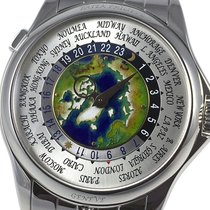 Patek Philippe World Time 5131/1P-001 New Platinum 39.5mm Automatic
