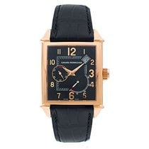 Girard Perregaux Rose gold Automatic Black 32mm pre-owned Vintage 1945
