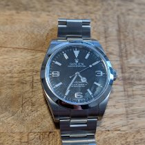 Rolex Explorer Steel 39mm Black Arabic numerals United States of America, New York, NYC