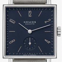NOMOS Tetra neu 2021 Handaufzug Uhr mit Original-Box und Original-Papieren 450