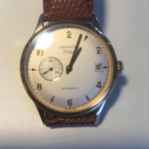 Zenith Or rose Remontage automatique Champagne Arabes 37mm occasion Elite