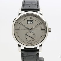 A. Lange & Söhne Grand Langematik pre-owned 40mm Grey Date Leather