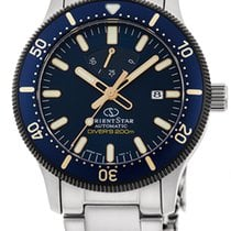 Orient Star Steel 43mm Blue