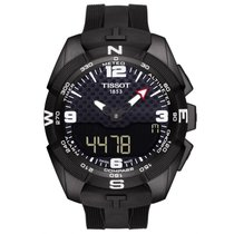 Tissot T-Touch Expert Solar Titan 45mm Sort Arabertal