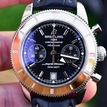Breitling Superocean Héritage Chronograph Acero 44mm Negro