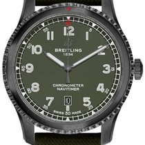 Breitling Navitimer 8 Steel 41mm Green Arabic numerals United States of America, New Jersey, Edgewater