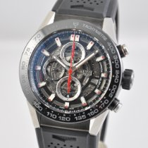TAG Heuer CAR2A1Z.FT6044 Steel 2017 Carrera Calibre HEUER 01 45mm pre-owned United States of America, Ohio, Mason
