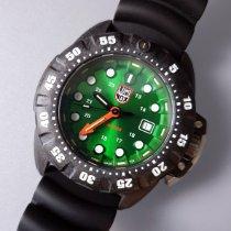 Luminox Deep Dive Carbono 46mm Verde Sem números