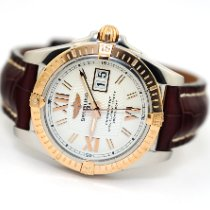 Breitling Galactic Gold/Steel 41mm Silver United States of America, Florida, Aventura