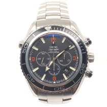 Omega Seamaster Planet Ocean Chronograph Steel Black Arabic numerals United States of America, New York, New York
