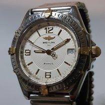 Breitling Windrider Steel 38mm White Arabic numerals