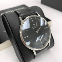 Hamilton Intra-Matic Steel 42mm Black No numerals United States of America, California, Newport Beach