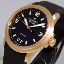 Blancpain Léman Rose gold 40mm Black Arabic numerals