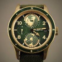 Montblanc 1858 Bronse 42mm Grønn Arabisk