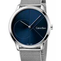 ck Calvin Klein Steel 40mm Quartz K3M2112N new