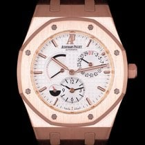 Audemars Piguet Royal Oak Dual Time Or rose 39mm Argent